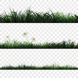 Безшовная картина травы бесплатная иллюстрация