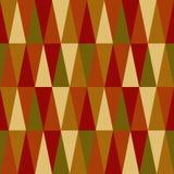 Безшовная картина треугольника Стоковая Фотография