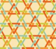 Безшовная картина треугольника Стоковая Фотография RF