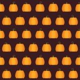 Безшовная картина тыквы хеллоуина Стоковые Фотографии RF