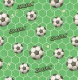 Безшовная картина футбола бесплатная иллюстрация