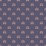 Безшовная картина цвета с мотивом стрелок абстрактный minimalist предпосылки иллюстрация вектора