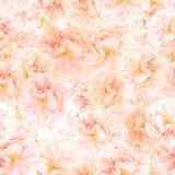 БЕЗШОВНАЯ картина цветений Сакуры стоковое изображение