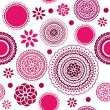 Безшовная картина цветка Стоковая Фотография