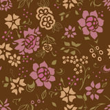 Безшовная картина цветка Стоковые Изображения