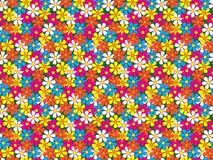 Безшовная картина цветков Стоковые Фото