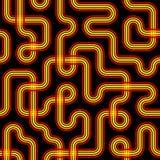 Безшовная картина цепи стоковое фото