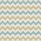 Безшовная картина шеврона на linen текстуре Стоковые Фото