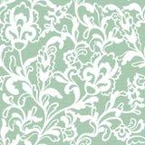 Безшовная картина шнурка цветка Стоковое Изображение