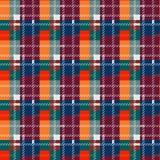 Безшовная картина шотландки тартана Картина ткани Checkered текстура для ткани одежды печатает, веб-дизайн, домашняя ткань eps10 иллюстрация штока