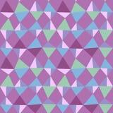 Безшовная картина backgound треугольников Стоковая Фотография