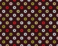 Безшовная картина donuts Стоковые Изображения RF
