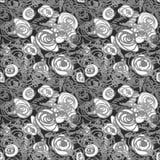 Безшовная картина doodle Стоковое фото RF