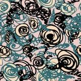 Безшовная картина doodle Стоковое Изображение