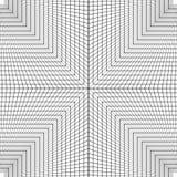 Безшовная квадратная орнаментальная картина черно-белая Стоковые Фотографии RF
