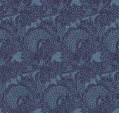 Безшовная китайская текстура дракона Стоковая Фотография