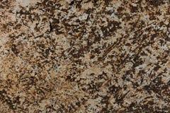 Безшовная коричневая текстура гранита как предпосылка Стоковые Изображения