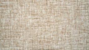 Безшовная коричневая текстура холста Стоковое фото RF