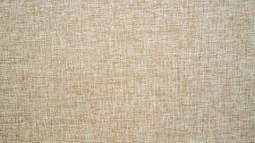 Безшовная коричневая текстура холста Стоковое Изображение