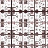 Безшовная короткая клюшка - город Стоковое Изображение