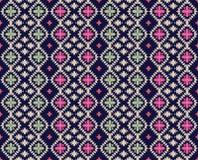 Безшовная красочная геометрическая картина иллюстрация вектора