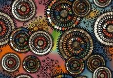 Безшовная красочная геометрическая картина иллюстрация штока