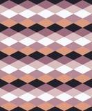 Безшовная красочная декоративная предпосылка с геометрическими формами иллюстрация штока