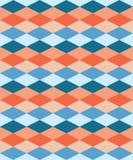 Безшовная красочная декоративная предпосылка с геометрическими формами бесплатная иллюстрация