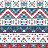 Безшовная красочная картина navajo бесплатная иллюстрация