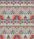 Безшовная красочная картина navajo иллюстрация штока