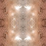 Безшовная медная предпосылка текстуры металла Стоковое Изображение