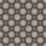 Безшовная мозаика конспекта искусства темная - серая картина кругов бесплатная иллюстрация
