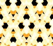 Безшовная мозаика сота конспекта картины Стоковая Фотография RF