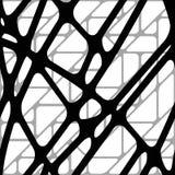 Безшовная объемная предпосылка от линий Стоковое Фото