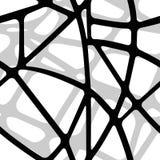 Безшовная объемная предпосылка от прозрачных черных нашивок Стоковая Фотография