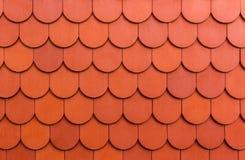 Безшовная оранжевая предпосылка текстуры черепицы. стоковые фотографии rf
