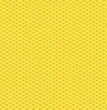 Безшовная лоснистая желтая картина сота Стоковое Фото