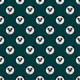 Безшовная панда картины Стоковая Фотография