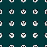 Безшовная панда картины Стоковые Фотографии RF