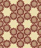 Безшовная переплетенная картина цветков Стоковые Фото