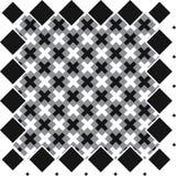 Безшовная повторяя ткань, щетка чернил штрихует картину Стоковое Фото
