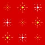 Безшовная покрашенная картина для предпосылки вектор изображения иллюстраций download готовый иллюстрация штока