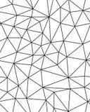 Безшовная полигональная картина Стоковое Изображение RF