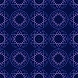Безшовная предпосылка картины с абстрактными элементами и геометрическими формами, красочной иллюстрацией иллюстрация штока