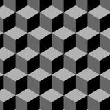 Безшовная предпосылка кубика бесплатная иллюстрация