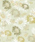 Безшовная предпосылка солнцецвета вектора для дизайна ткани иллюстрация вектора