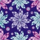 Безшовная предпосылка цветка Стоковое Изображение RF