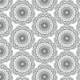 Безшовная предпосылка картины мандалы Стоковое Фото