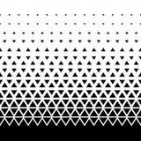 Безшовная предпосылка картины треугольника Ретро винтажный вектор дизайна Стоковая Фотография