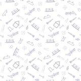 Безшовная предпосылка от инструментов конструкции Стоковое Фото